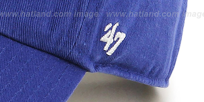 Cubs 'POLO STRAPBACK' Royal Hat by Twins 47 Brand