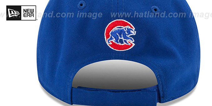 Cubs 'THE-LEAGUE STRAPBACK' White-Royal Hat by New Era