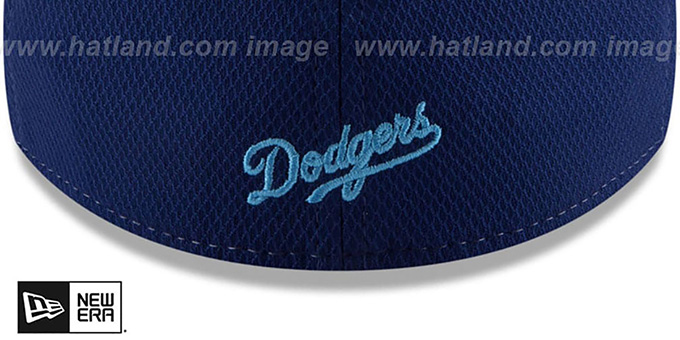 Dodgers '2018 FATHERS DAY FLEX' Sky-Royal Hat by New Era
