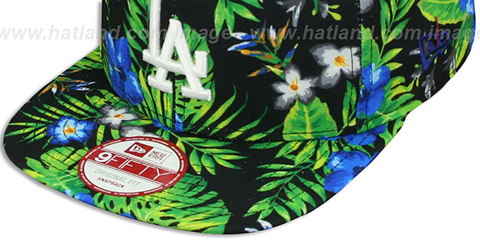 Dodgers 'BLOOM SNAPBACK' Hat by New Era