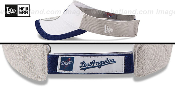 Dodgers 'COLOR-BLOCK VISOR' by New Era