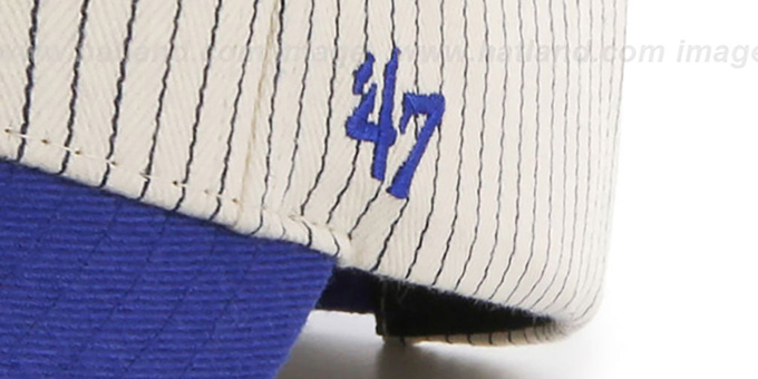 9a70a940034 ... Dodgers  HOME-RUN PINSTRIPE STRAPBACK  Hat by Twins 47 Brand