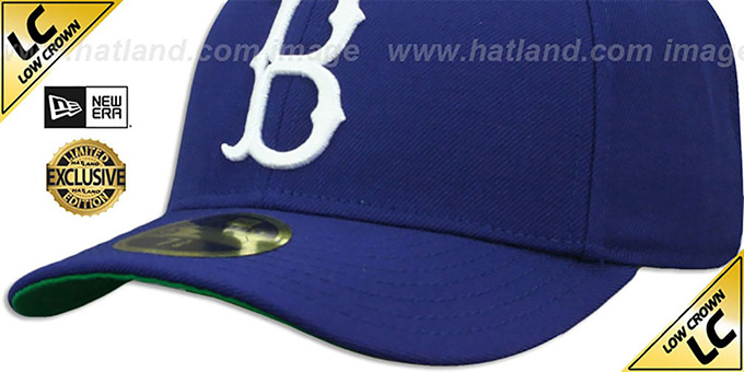 ac7230e99c4 ... Dodgers  LOW-CROWN 1939-57 COOPERSTOWN  Fitted Hat by New Era