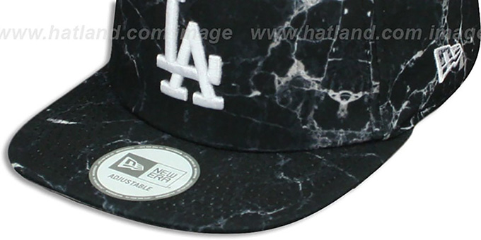 separation shoes ab28d e0257 Los Angeles Dodgers MARBLE MIX SNAPBACK Hat by New Era