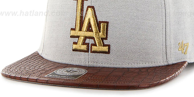 Dodgers 'ORINOCO STRAPBACK' Hat by Twins 47 Brand