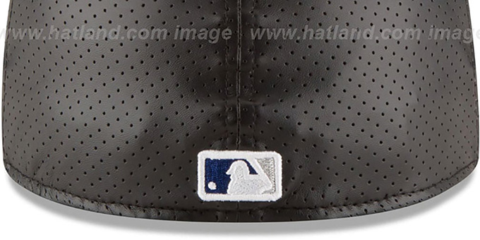 Dodgers 'PERFECTLY STATED'  Black-Royal Fitted Hat by New Era