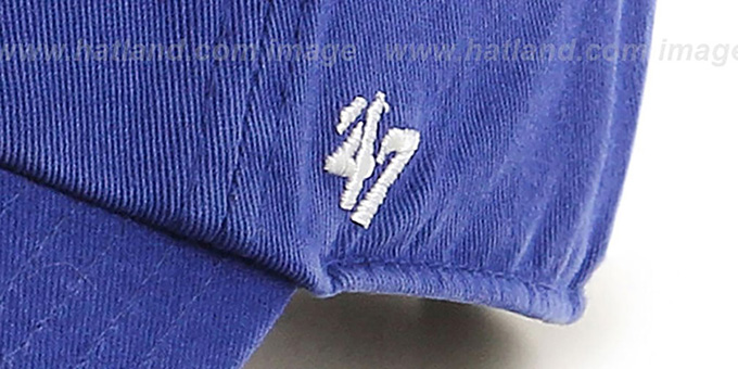 Dodgers 'POLO STRAPBACK' Royal Hat by Twins 47 Brand
