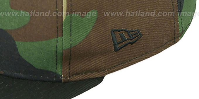 Dodgers 'RALLYMARK SNAPBACK' Army-Black Hat by New Era
