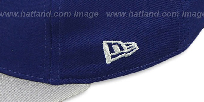 Dodgers 'RALLYMARK SNAPBACK' Royal-Grey Hat by New Era