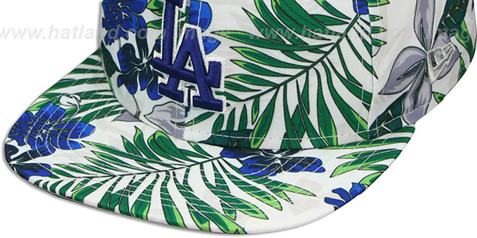 Dodgers 'TROPTRIP BLOOM SNAPBACK' Hat by New Era
