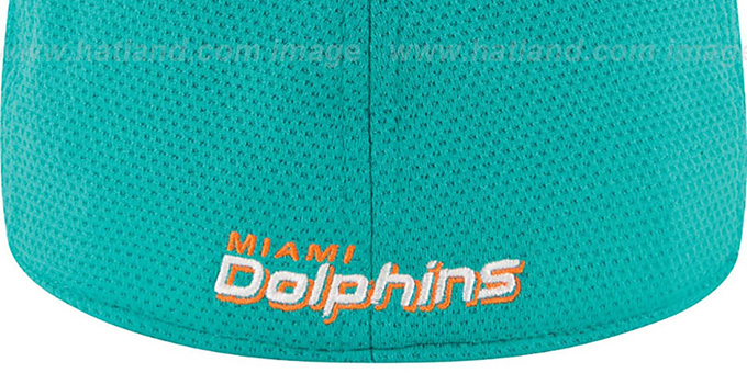 Dolphins '2014 NFL TRAINING FLEX' Aqua Hat by New Era