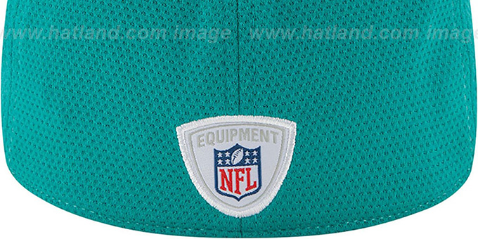 Dolphins '2014 NFL TRAINING FLEX' White Hat by New Era