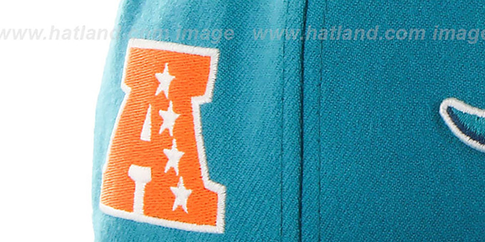 info for f05d7 fe3b3 ... Dolphins  SUPER-SHOT STRAPBACK  Aqua Hat by Twins 47 Brand