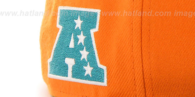 huge discount 0a1e3 37f6f ... Dolphins  SUPER-SHOT STRAPBACK  Orange-Aqua Hat by Twins 47 Brand