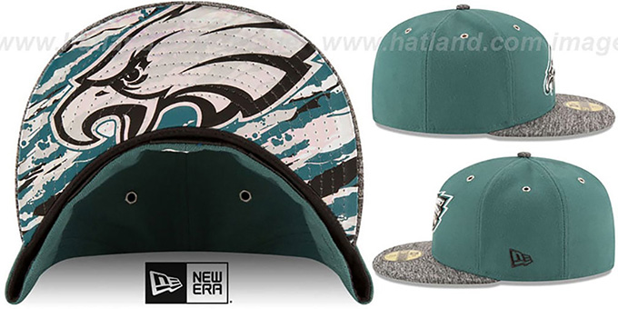 Eagles '2016 NFL DRAFT' Fitted Hat by New Era
