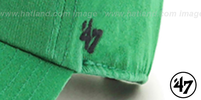 Eagles THROWBACK 'CLEAN-UP STRAPBACK' Green Hat by Twins 47 Brand