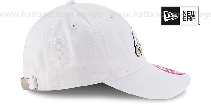 Eagles 'WOMENS PREFERRED PICK STRAPBACK' White Hat by New Era