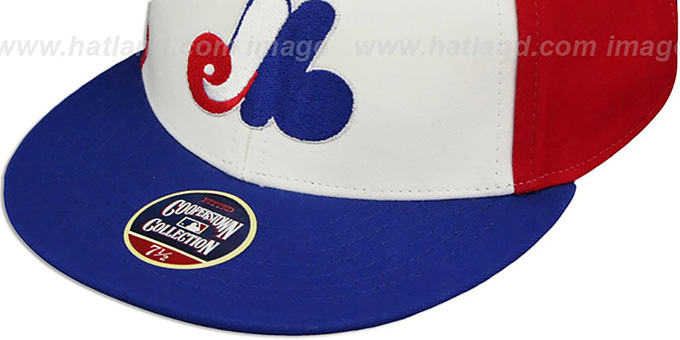 Expos '1977 COOPERSTOWN' Fitted Hat by Twins 47 Brand