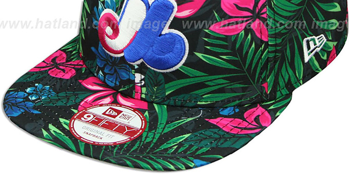Expos 'AMAZON BLOOM SNAPBACK' Hat by New Era