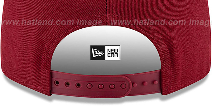Football Team 'TEAM-BASIC SNAPBACK' Burgundy Hat by New Era