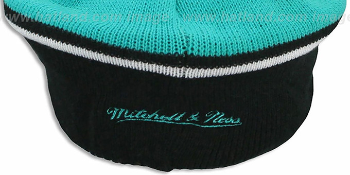 Grizzlies 'RERUN KNIT BEANIE' by Mitchell and Ness