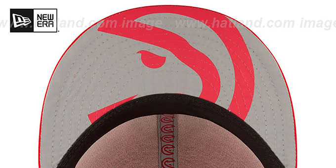 Hawks '2017 ONCOURT DRAFT' Red Fitted Hat by New Era