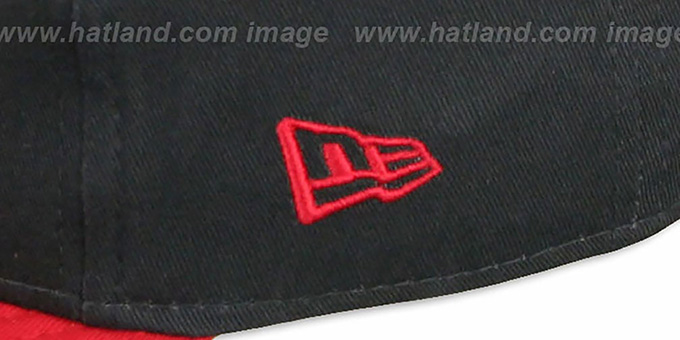 Hawks 'CHALK-UP HERO SNAPBACK' Navy-Red Hat by New Era
