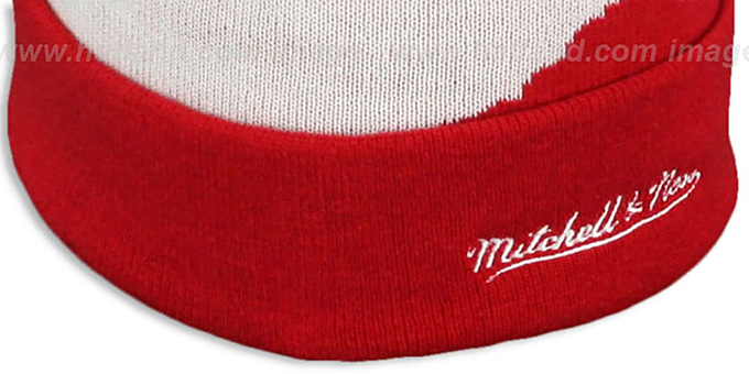 Heat 'PAINTBRUSH BEANIE' by Mitchell and Ness