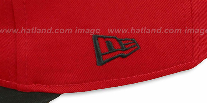 Heat 'SIDE-TEAM' HUMAN TORCH SNAPBACK Hat by New Era