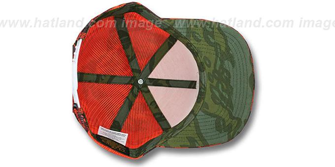 8d98e598e0c Hurley KRUSH MESHER SNAPBACK Orange Trucker Hat