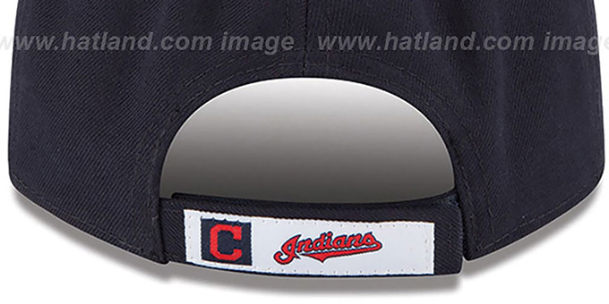Indians 'THE-LEAGUE HOME STRAPBACK' Navy-Red Hat by New Era