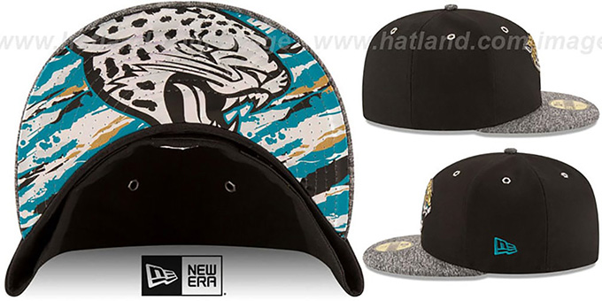 Jacksonville Jaguars 2016 NFL DRAFT Fitted Hat by New Era da340b724c9