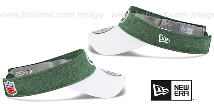 Jets '18 NFL STADIUM' Green-White Visor by New Era