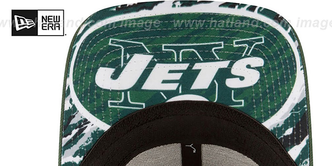 brand new 68e21 a6991 New York Jets 2016 NFL DRAFT FLEX Hat by New Era