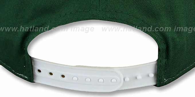 Jets 'NFL CHRIOGRAPH SNAPBACK' White-Green-White Hat by New Era