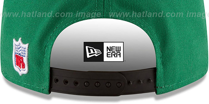 Jets 'RETRO-BASIC SNAPBACK' Green Hat by New Era