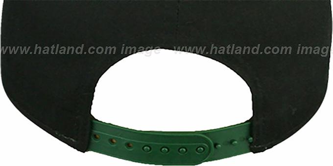 2cd46c2fde5 ... Jets  SNAP-IT-BACK SNAPBACK  Black-Green Hat by New Era
