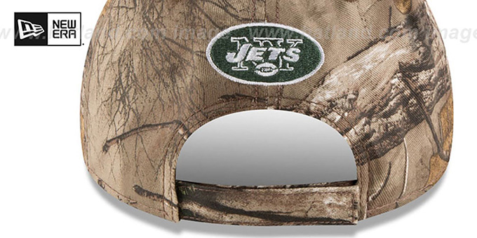 Jets 'THE LEAGUE REALTREE' Strapback Hat by New Era