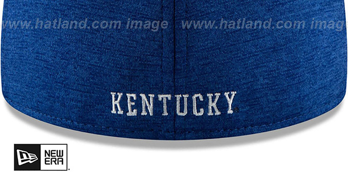 Kentucky 'HEATHER-HUGE 2' Royal-White Fitted Hat by New Era