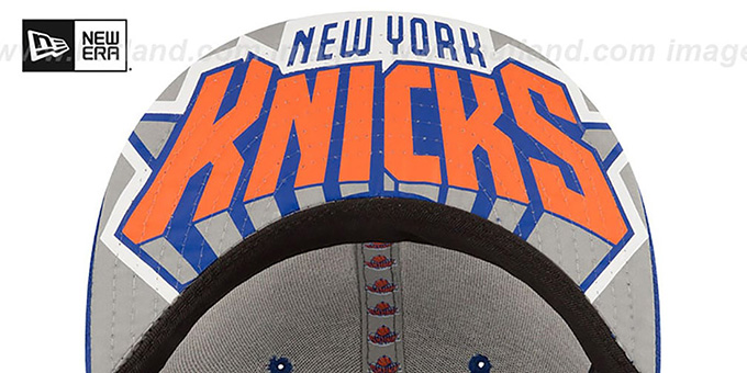 Knicks '2017 ONCOURT DRAFT' Royal Fitted Hat by New Era