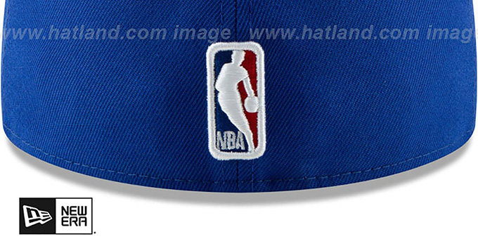 Knicks 'DECEPTORED' Royal Fitted Hat by New Era