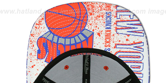 Knicks 'IN-THE-STANDS SNAPBACK' Hat by Mitchell & Ness