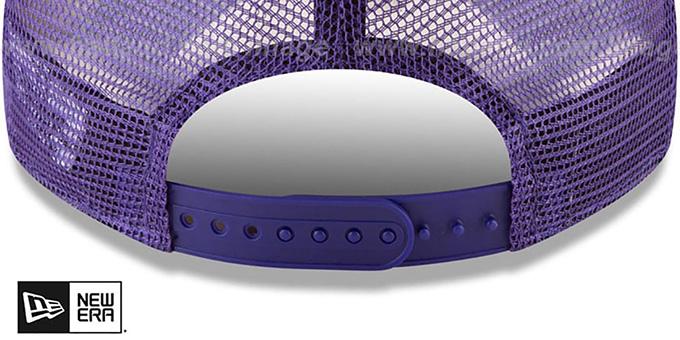 31d9856121db2 ... Lakers  RUGGED-TEAM TRUCKER SNAPBACK  Purple Hat by New Era
