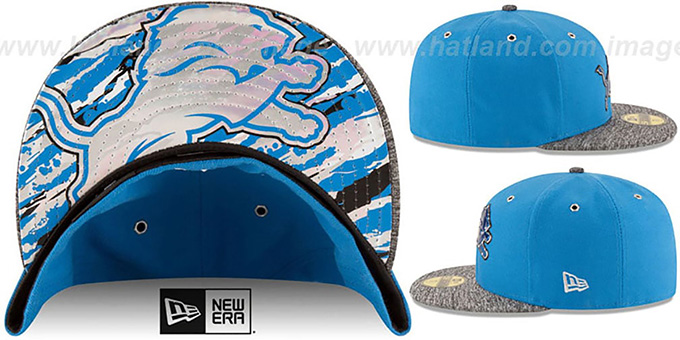 Lions '2016 NFL DRAFT' Fitted Hat by New Era