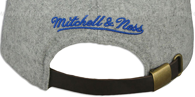 Magic '2T TAILSWEEPER STRAPBACK' Grey-Blue Hat by Mitchell & Ness