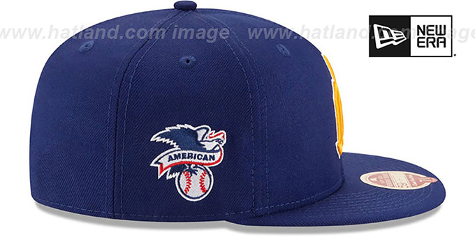 Mariners 'MLB COOPERSTOWN WOOL-STANDARD' Royal Fitted Hat by New Era