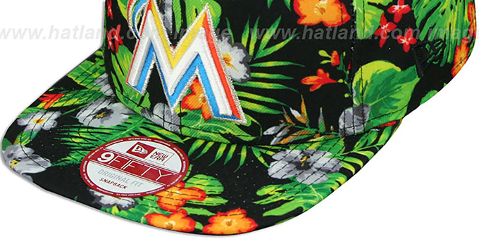 Marlins 'BLOOM SNAPBACK' Hat by New Era