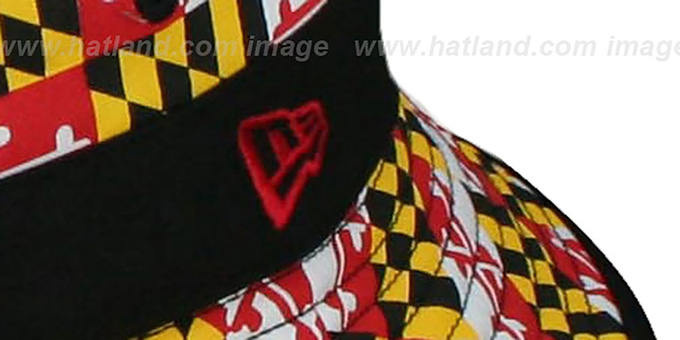 Maryland 'ALL-OVER MARYLAND FLAG BUCKET' Hat by New Era