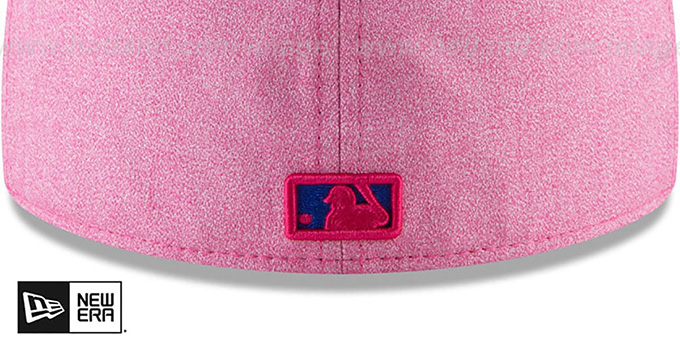 14fd827e7ab ... Mets  2018 MOTHERS DAY  Pink-Royal Fitted Hat by New Era