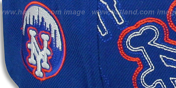 Mets 'HEADSTRONG' Royal Fitted Hat by American Needle